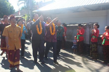 Penilaian Lomba Evaluasi Perkembangan Desa Tingkat Provinsi