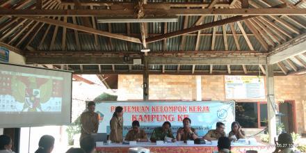 Pertemuan Pokja Kampung KB