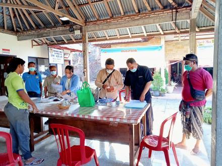 Desa Sembiran mendapatkan BPNT Sebanyak 145 penerima
